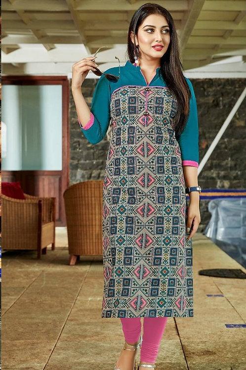 Women's Cotton Printed Designer Kurti