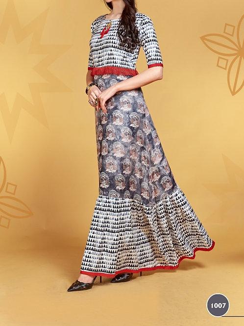 Women's Rayon Printed Kurti