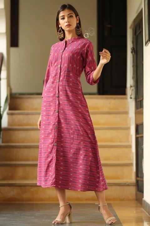 Women's Cotton Front Slit Kurti