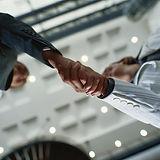 Business Handshake negotiation