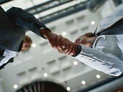 Business Networking Handshake