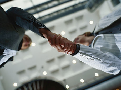 forretning Handshake