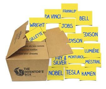 La caixa dels inventors ja és a l'escola