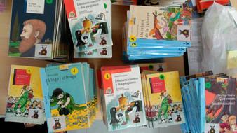 Ajuda per fer crèixer el projecte de llibres