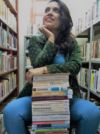Leila Vilhena em *Falas Diversas