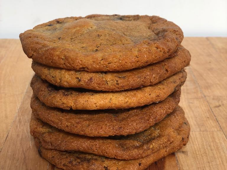 Spelt Chocolate Chip Cookies Available To Order Now