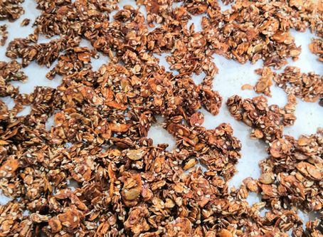 Granola Available Now to Order (Limited Stock Available)