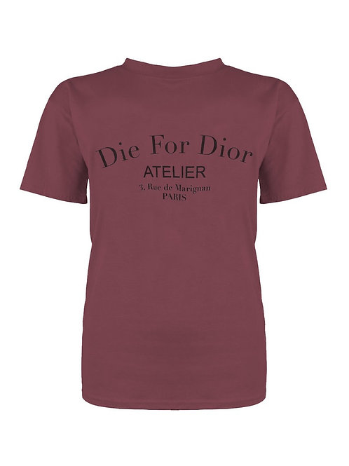 T-Shirt Estefania Bordeaux