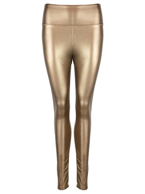 Eco-Leatherlegging Metallic Gold