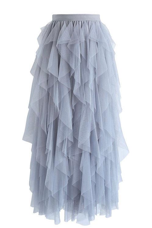 Skirt Yvette Light-Grey
