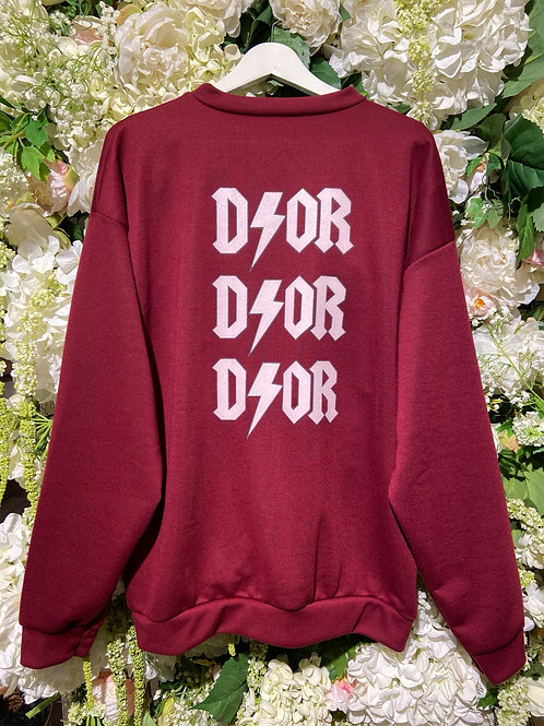 Sweater Daria Bordeaux