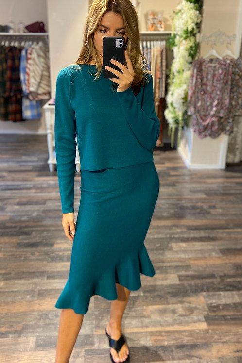Dress Gabriella Petrol