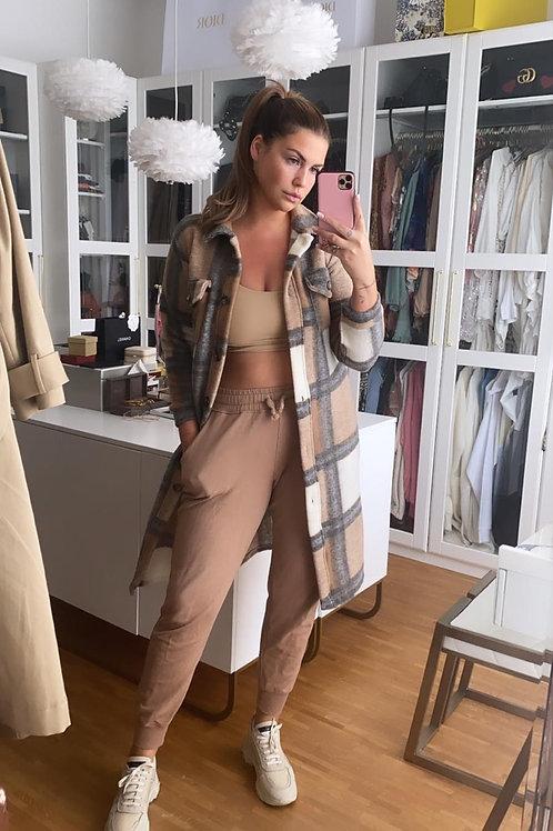 Jacket Farina Beige/Grau