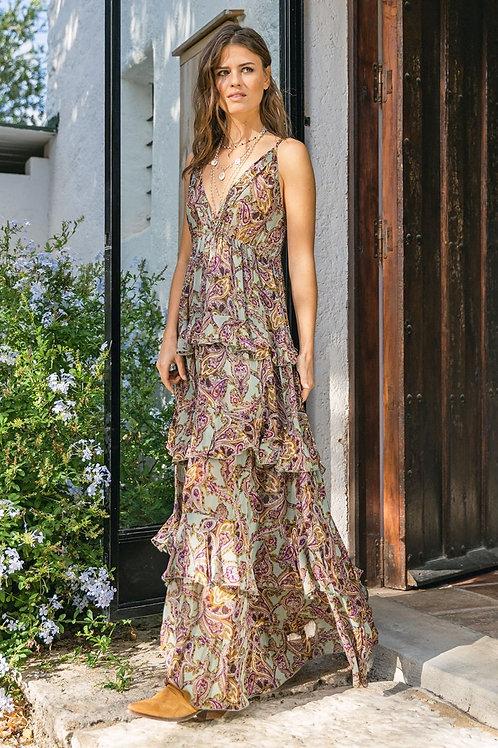 Miss June Dress Tanzanite