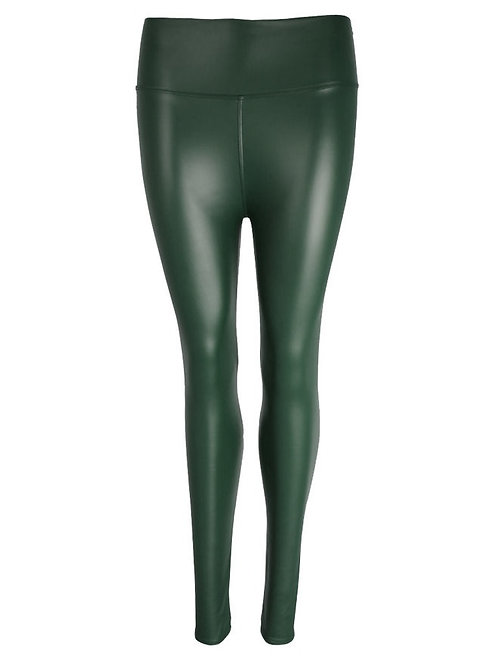 Eco-Leatherlegging Green