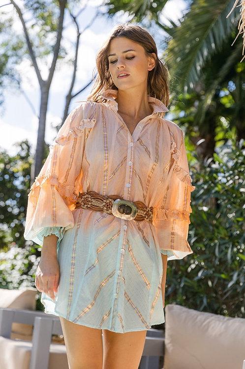 Miss June Dress Coral