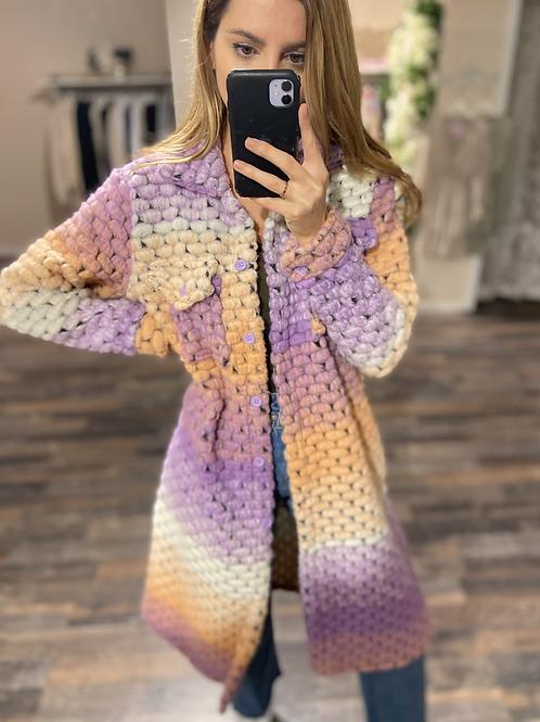 Jacket Rainbow Purple