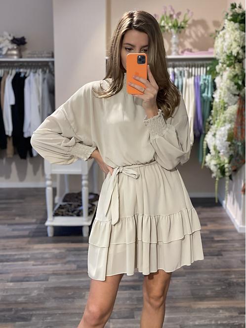 Dress Eléonore Beige