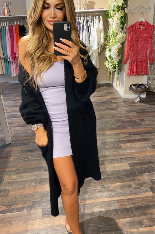 Cardigan June Vibes Black