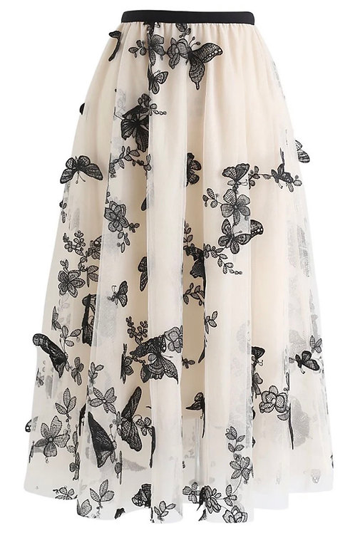 Skirt Butterfly Cream