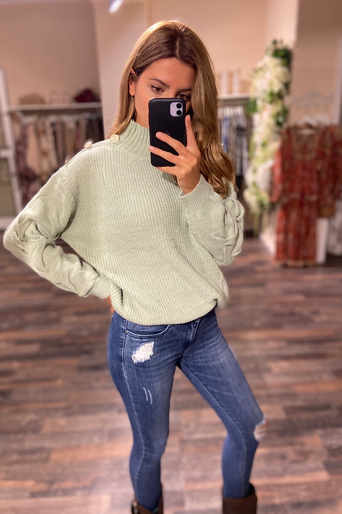 Sweater Evelyn Mint