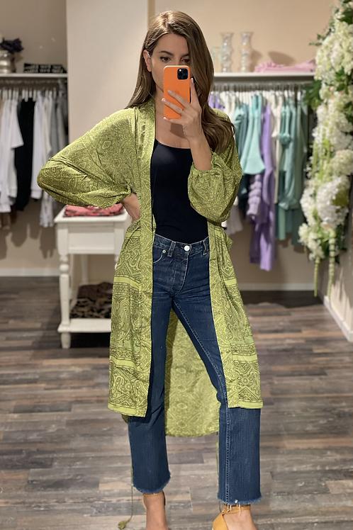 Silk-Kimono Heather