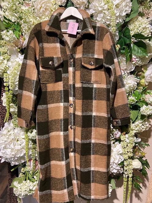 Jacket Noura Beige/Olive