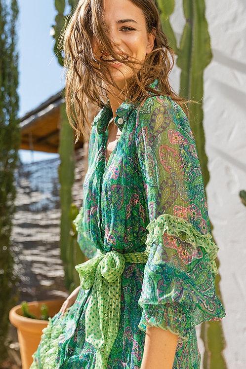 Miss June Dress Shaniya Green