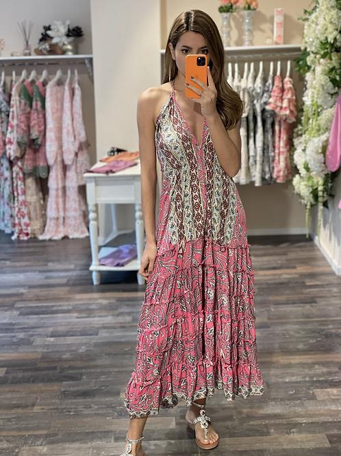 Silkdress Vera Pink