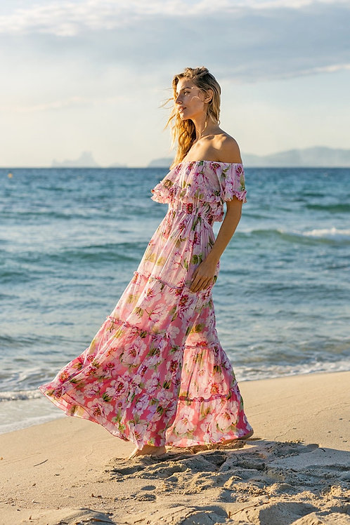 Miss June Dress Roses