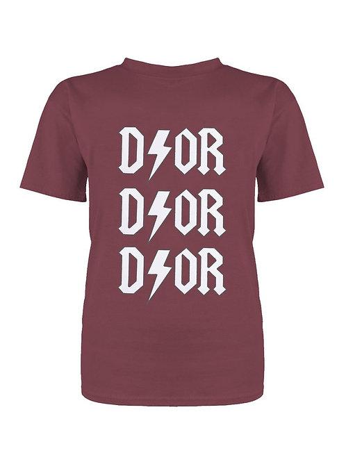 T-Shirt Thunder Bordeaux