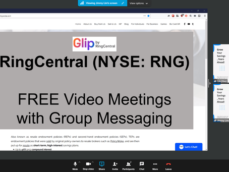 Glip, FREE Video Meetings with Group Messaging