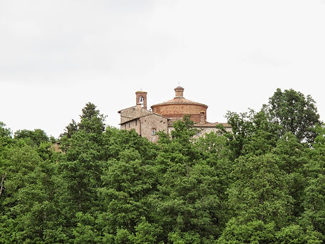 Montesiepi Hermitage, the church where you may find the sword in the stone of the Saint Galgano