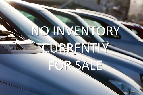 NO INVENTORY CURRENTLY FOR SALE