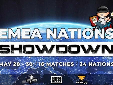 EMEA Nations Showdown tournament announced