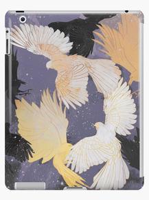 Bird pattern, Plum