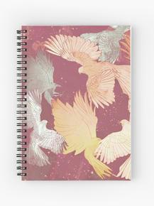 Bird pattern, Ruddy