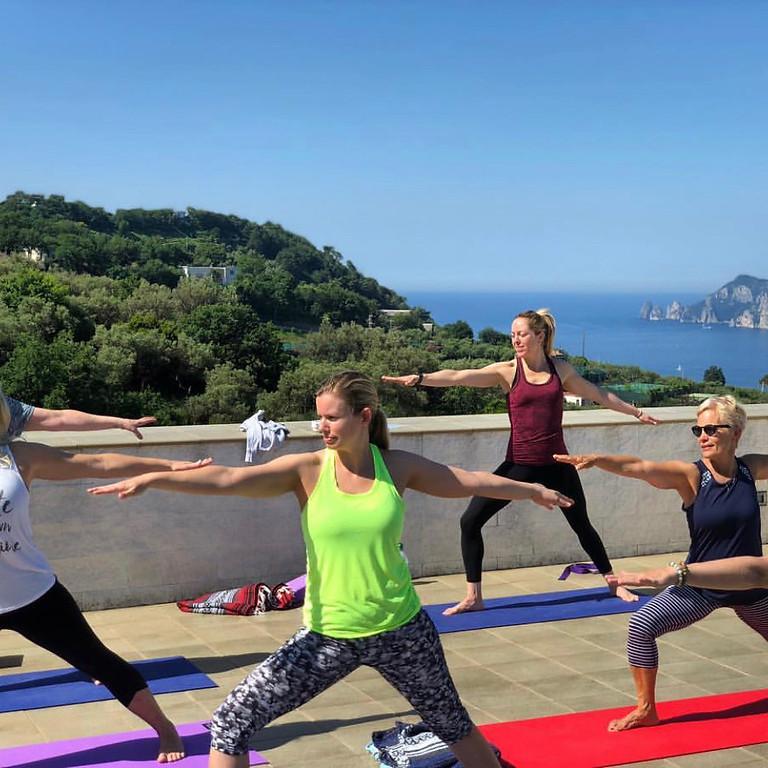 Amalfi Coast Italy Yoga Retreat Week 2