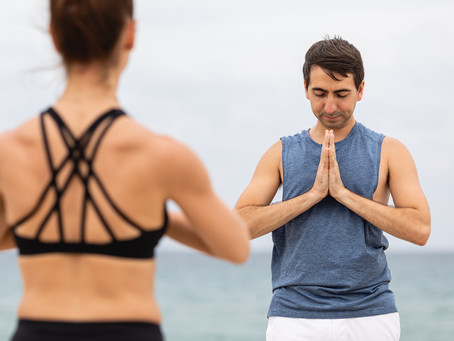 Teaching Beach Yoga and Practicing Non Attachment