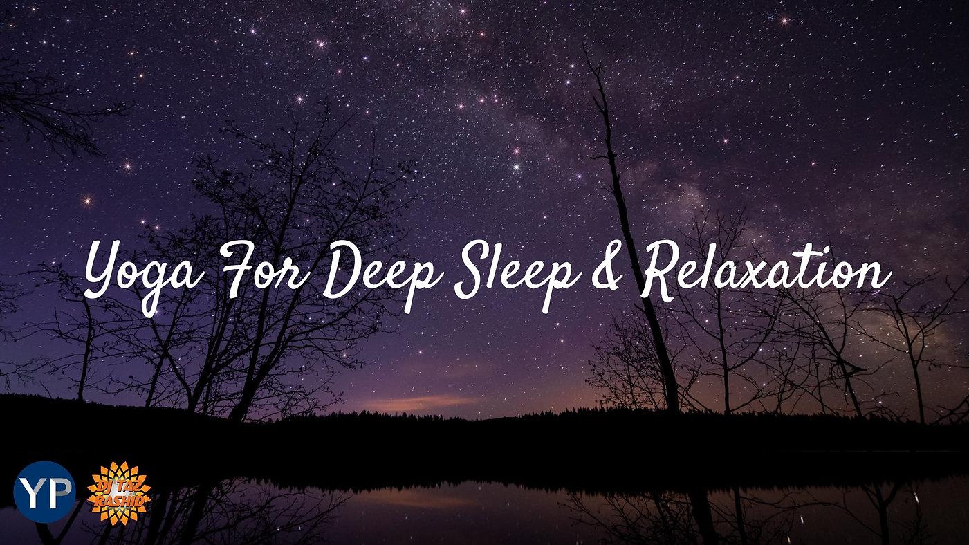 Yoga For Deep Sleep & Relaxation Hero Fi