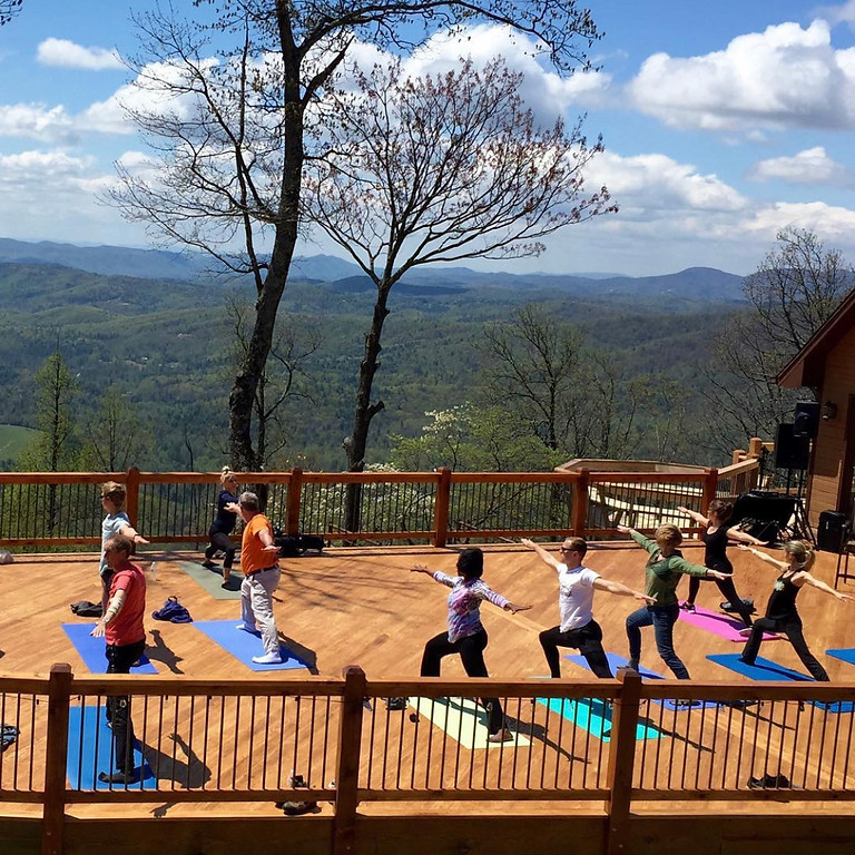Off The Grid And Into The Sky Yoga Retreat