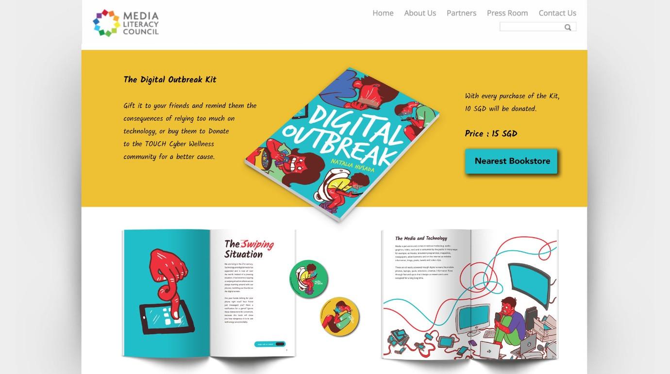 Digital Outbreak Kit Page