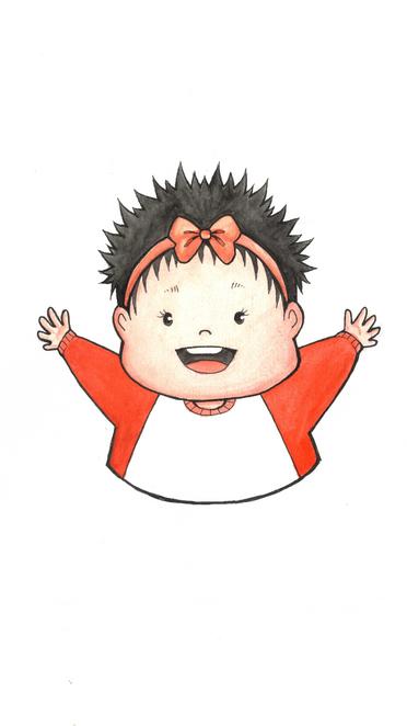 Birthday Illustration - Baby