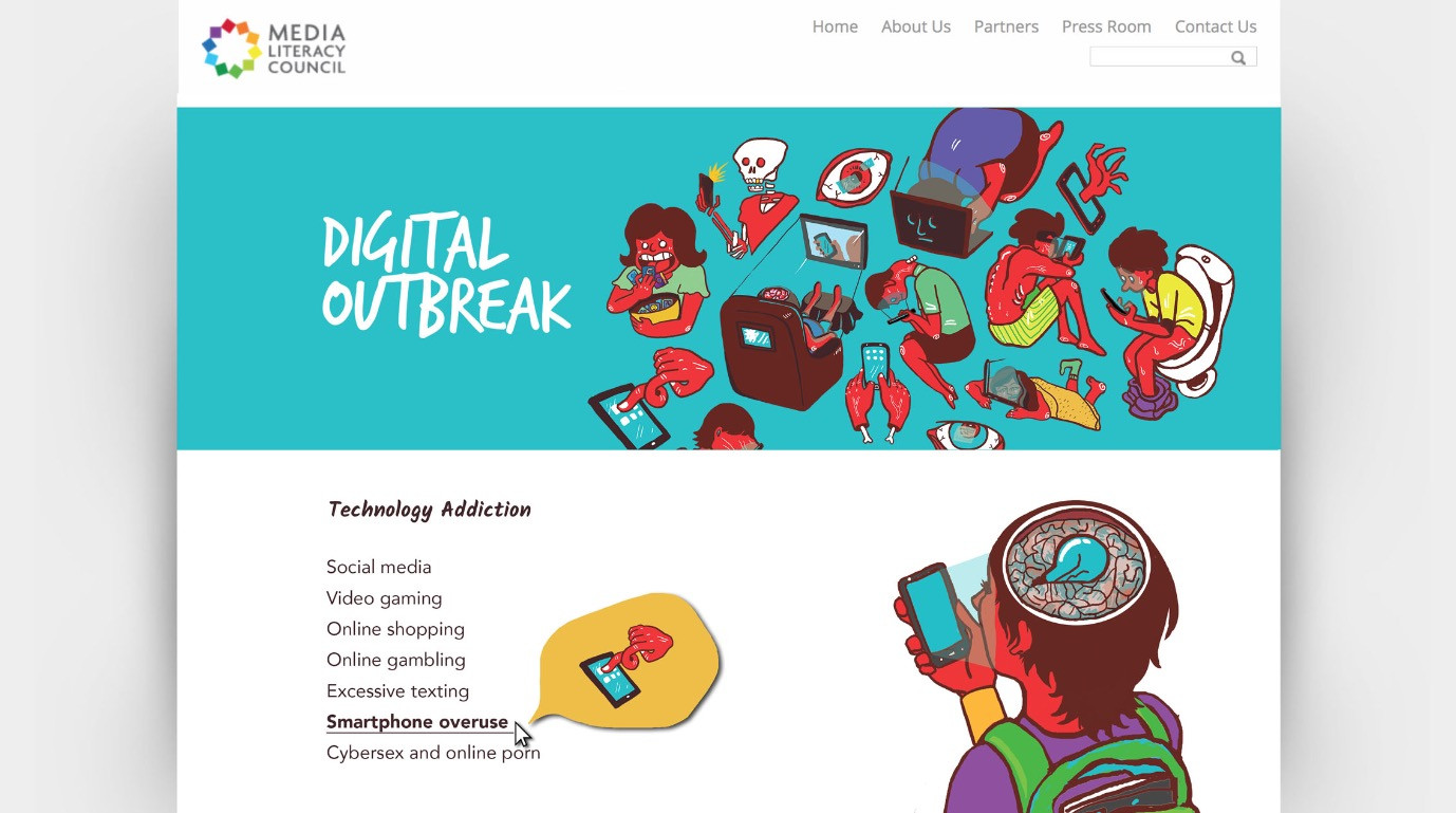 Technology Addiction Page