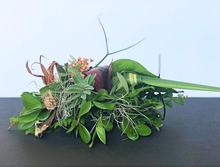 Set of Five Organic Arrangements