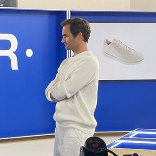 Roger Federer On Running
