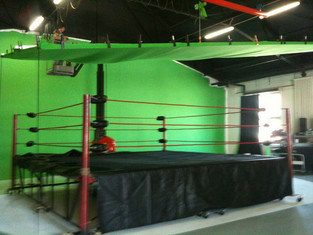 boxing green screen fotohalle