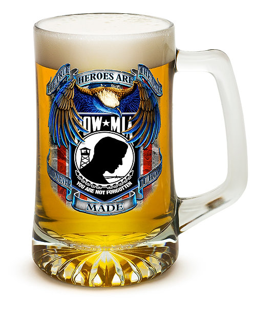 POW Never Forget 25oz large Tankard
