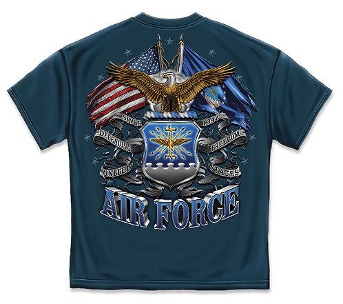 AIR FORECE DOUBLE FLAG EAGLE