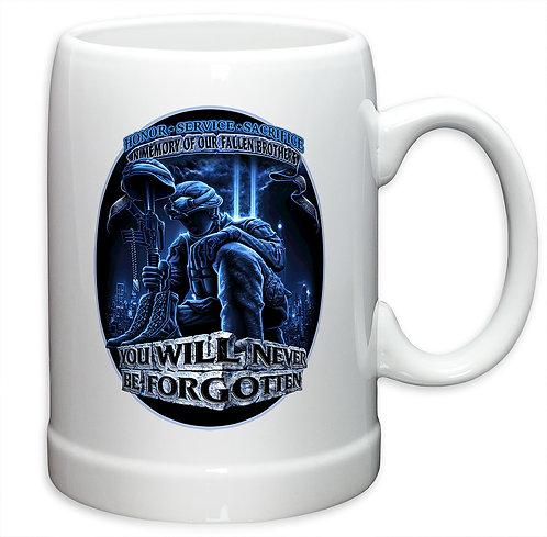 POW Never Forget 20oz Stoneware Mug